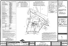 Outdoor room plot plan - Davey