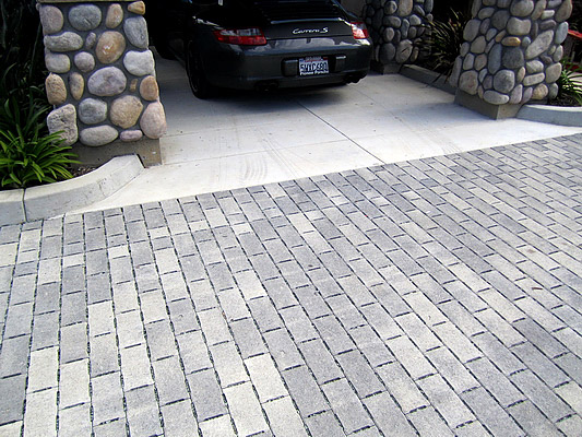 Paver Installation Natural Stone San Diego Point Loma
