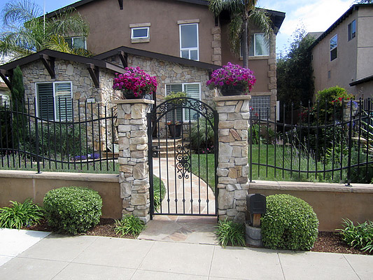 Gates San Diego Point Loma Mission Hills Claremont Ca